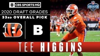 Bengals draft a REPLACEMENT for AJ Green in Tee Higgins with the 33rd overall pick | 2020 NFL Draft