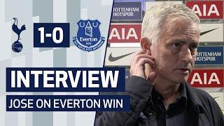 INTERVIEW | Jose Mourinho on Everton Win