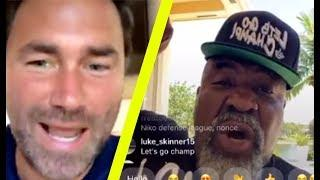 """F*** FIGHTING YOU BAREKNUCKLE!"" SHANNON BRIGGS REVEALS BKB MOVE TO EDDIE HEARN"