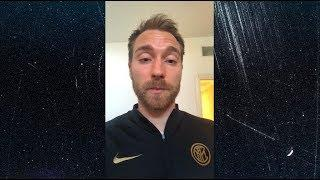 CHRISTIAN ERIKSEN | A MESSAGE ABOUT THE COVID-19 EMERGENCY | #TogetherAsATeam