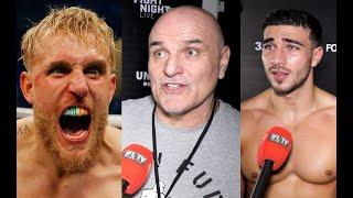 UNSEEN! - 'JAKE PAUL, WE WILL HAVE YOU MATE' - JOHN FURY CALLS FOR JAKE PAUL TO FIGHT SON TOMMY FURY