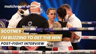 """I can't wait to fight again!"" - Ellie Scotney reacts to impressive pro debut win vs Bec Connolly"