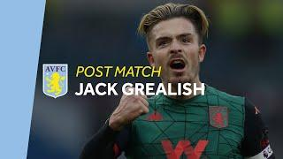 POST MATCH | Jack Grealish pleased with Burnley win