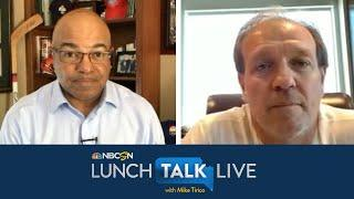 Texas A&M's Jimbo Fisher talks meetings with players, prep for season | Lunch Talk Live | NBC Sports