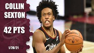 Collin Sexton scores 15 points in 2nd OT during Cavs' win vs. Nets [HIGHLIGHTS] | NBA on ESPN