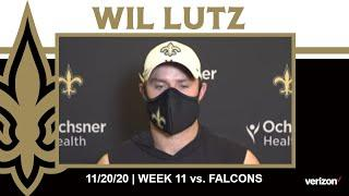 Wil Lutz talks Saints Special Teams, Saints-Falcons Rivalry | Saints-Falcons Week 11