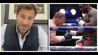 WHYTE v POVETKIN IS OFF! - AS POVETKIN TESTS POSTIVE FOR COVID, EDDIE HEARN REACTS, WANTS FURY-WHYTE