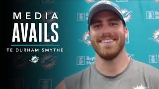 Durham Smythe Discusses Week 2 of OTA's | Miami Dolphins Media Avails