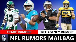 NFL Trade Rumors On Josh Rosen & Jamal Adams + Bears Sign Cam Newton? Clay Matthews Seahawks? | Q&A