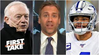 Max explains why the Cowboys will regret not signing Dak Prescott to a long-term deal | First Take