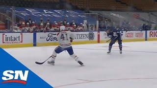 William Nylander Rips Shot From Long Range For First Maple Leafs Goal Of Season