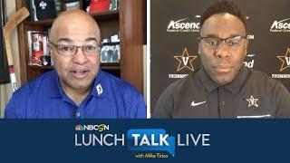 Derek Mason on protests: We have to find middle of silence, violence | Lunch Talk Live | NBC Sports