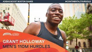 Grant Holloway powers to victory in Boston | Continental Tour Gold