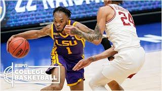 LSU gets past Arkansas to reach SEC tournament title game [HIGHLIGHTS] | ESPN College Basketball