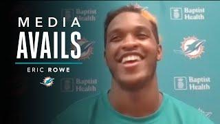 Eric Rowe talks OTAs and more | Miami Dolphins