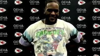 """Frank Clark: """"You got to play a patient game"""" 