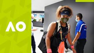 Naomi Osaka's Best Moments from Behind The Scenes   Australian Open 2021