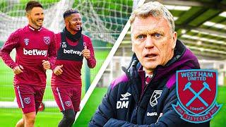 WE TRAINED WITH WEST HAM FIRST TEAM!