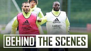 Shooting & drills   Behind the scenes at Arsenal training centre