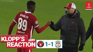 Klopp's Reaction: Captain Trent, pleasing performance & the youngsters | Midtjylland v Liverpool