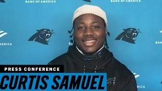 Curtis Samuel and speed go hand in hand