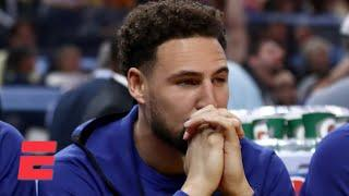 Discussing the critical timing of Klay Thompson's injury | Keyshawn, JWill & Zubin