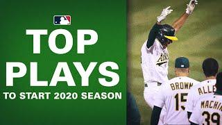 The Top Plays to Start the 2020 Season! (Where did Dodgers' Mookie Betts land?)