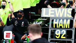 Lewis Hamilton BREAKS Michael Schumacher's 91-race win record at Portimao | F1 2020