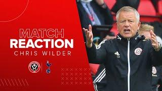 Chris Wilder | Sheffield United 3-1 Tottenham Hotspur | Premier League reaction