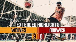 JOTA AND JIMENEZ SINK THE CANARIES! | Wolves 3-0 Norwich City | Extended highlights
