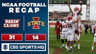 Louisiana-Lafayette vs Iowa State : Ragin' Cajuns beat No. 23 Iowa St 31-14 | CBS Sports HQ