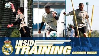 ACCESS ALL AREAS | Hazard, Zidane and Courtois on the second week back at Ciudad Real Madrid