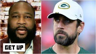 Marcus Spears analyzes Aaron Rodgers' 'calculated' response to Packers' Jordan Love pick | Get Up