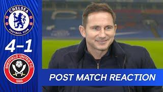 Frank Lampard Talks Hakim Ziyech & Timo Werner Performances | Chelsea 4-1 Sheffield United