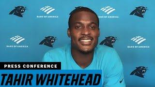 Tahir Whitehead talks about taking over the middle of the Panthers defense
