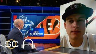 Joe Burrow describes first thought that went in his mind after Bengals picked him | SC with SVP
