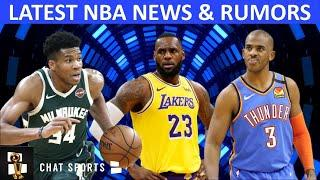 NBA Trade Rumors On Giannis & Chris Paul + LeBron James To The Knicks? Victor Oladipo Extension?