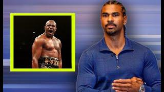 """""""It's TERRIBLE, it's DISGUSTING BUT.."""" David Haye REVEALS why Dillian Whyte/WBC situation is tricky!"""