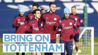 FIRST TEAM TRAINING   SPURRED ON