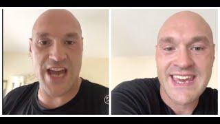 TYSON FURY - 'THAT WONT HAPPEN!  THAT WONT HAPPEN! -EVEN NOW PEOPLE STILL TRYING TO CRUSH MY DREAMS'