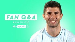 Who is the most LETHAL finisher at Chelsea!?  | Fan Q&A with Christian Pulisic