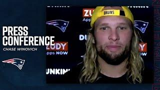 Chase Winovich is excited for the football season | Press Conference (New England Patriots)