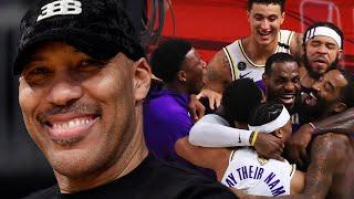 """LaVar Ball Says LeBron James, Lakers Won Because of Him & Should """"Send A Thank You Card"""""""