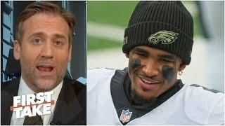 'It's now or never' to see whether Jalen Hurts is the Eagles' future QB - Max Kellerman | First Take