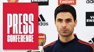 The latest on Leno's injury and Martinelli's fitness   Mikel Arteta   Press Conference