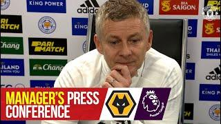 Manager's Press Conference | Manchester United v Wolverhampton Wanderers | Premier League