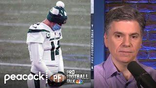 Why the writing's on the wall for Sam Darnold in New York Jets | Pro Football Talk | NBC Sports