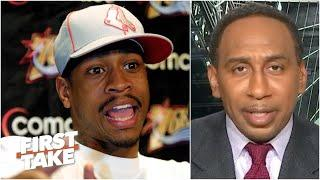 Stephen A. remembers covering Allen Iverson's epic 'practice' rant | First Take
