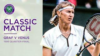Steffi Graf vs Venus Williams | 1999 Wimbledon Quarter-final Replayed
