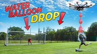 CRAZY WATER BALLOON PENALTY CHALLENGE!   Billy Wingrove vs Jeremy Lynch